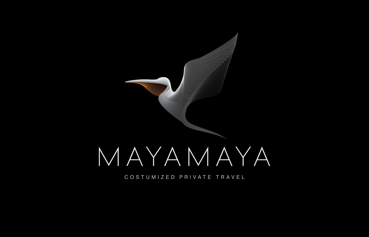 Mayamaya travel logo